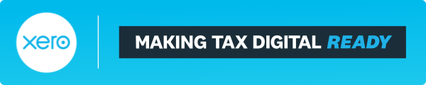 Xero- Making Tax Digital Ready banner
