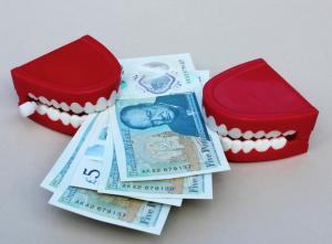 teeth money