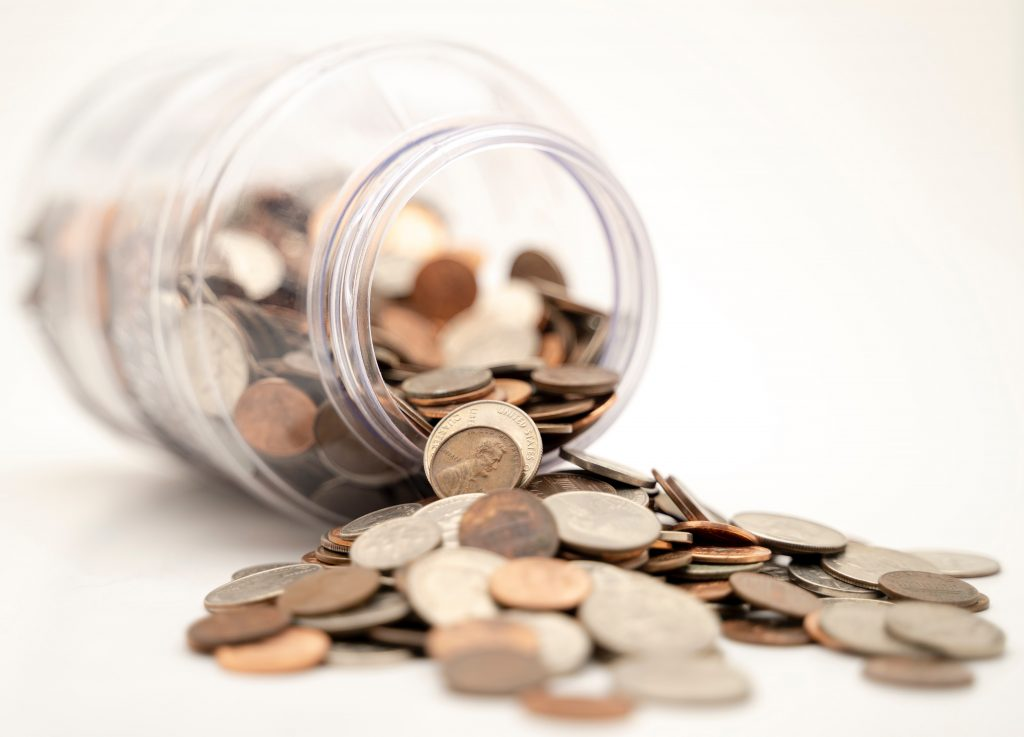 a rough guide of different things you can do to help take control of the finances at home